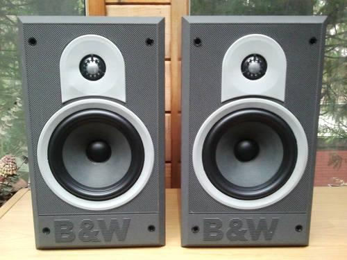 Vintage b amp w dm550 bookshelf speakers for sale in san jose california
