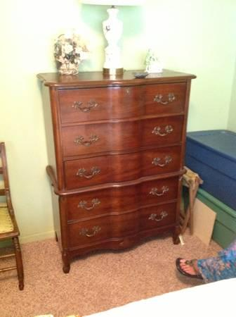 Vintage Bassett Bedroom Set For Sale In Camilla Georgia