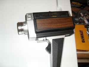 Vintage, Bell & Howell super 8 camera - $45 (Western