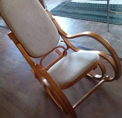 Super Vintage Bentwood Rocking Chair For Sale In Coos Bay Caraccident5 Cool Chair Designs And Ideas Caraccident5Info