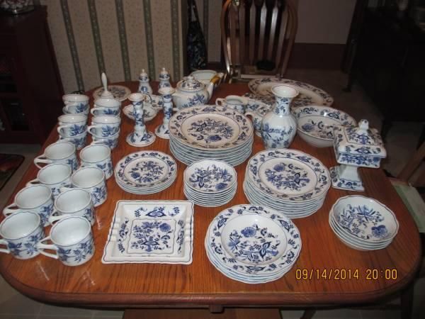 Vintage Blue Danube China - $20 & Vintage Blue Danube China - for Sale in Middleburg Pennsylvania ...