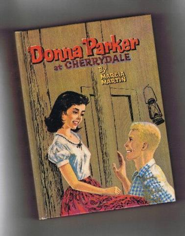 Vintage Book - Donna Parker at Cherrydale - 1957 - Hard