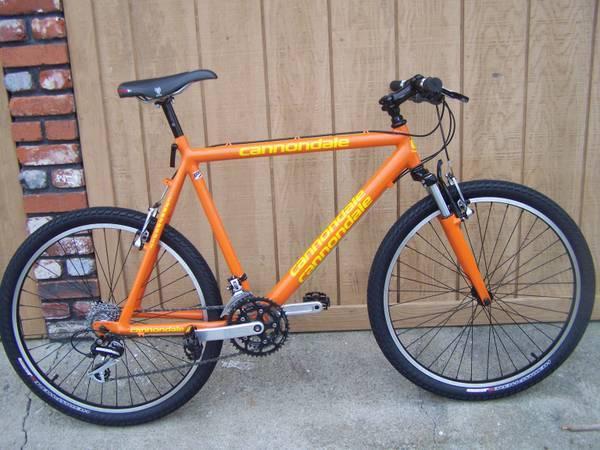Vintage Cannondale Mtn Bike Complete Rebuild For Sale