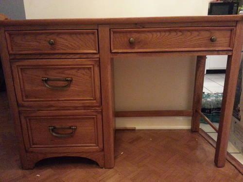 Vintage Carved Oak Dresser, Rocking Recliner U0026 Stanley