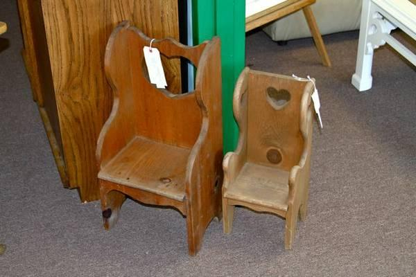 Vintage Childrens Chairs   Sold Individually