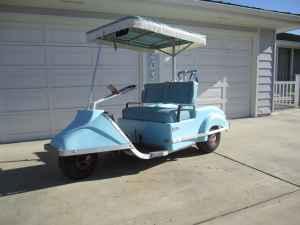 Vintage Club Car Golf Cart