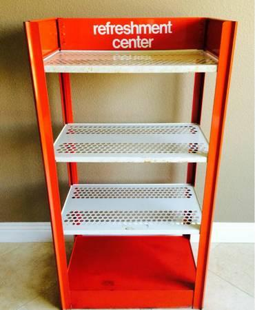 Display Shelves For Collectibles >> Vintage Coca Cola Metal Store Display Stand! Must See ...