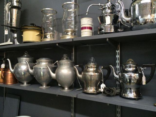 Vintage Coffee and Espresso Pots on Sale