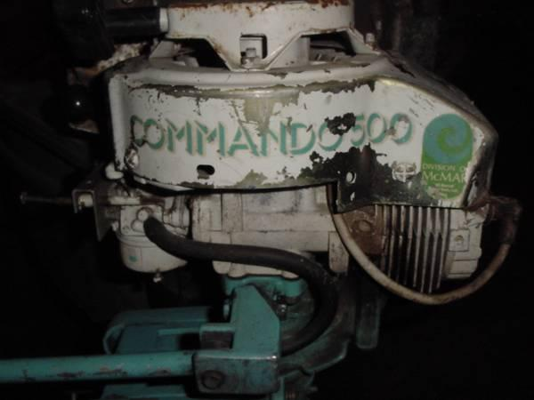 Vintage conmmando 500 3 to 4 hp outboard motor for sale for Outboard motors for sale in wisconsin