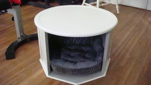 Quot Vintage Quot Converted Side Table To A Dog Bed For Sale In