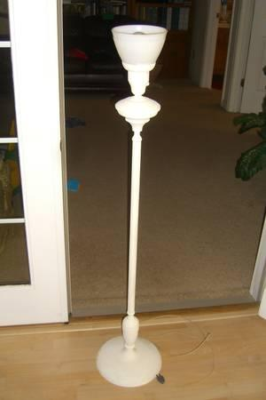 Vintage corning milkglass floor lamp for sale in cheyenne wyoming vintage corning milkglass floor lamp 55 mozeypictures Choice Image