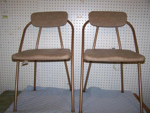 Vintage Cosco Quot Stylaire Quot Folding Chairs Mid Century Modern