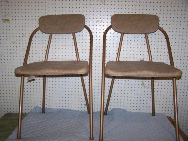 Brilliant Vintage Cosco Stylaire Folding Chairs Mid Century Modern Creativecarmelina Interior Chair Design Creativecarmelinacom