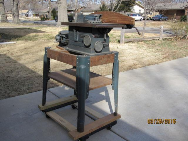 Vintage Craftsman 1950s cast iron Table Saw