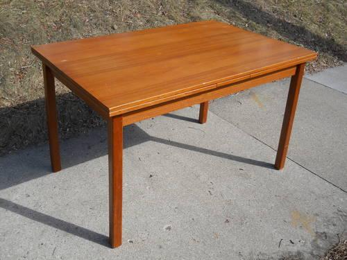 Vintage Danish Teak Dining Table Brdr Furbo For Sale In