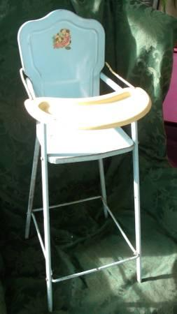 Vintage doll chair - $25