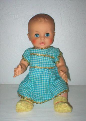 Vintage Doll - Opens & Closes Eyes - 1960's - Arms &