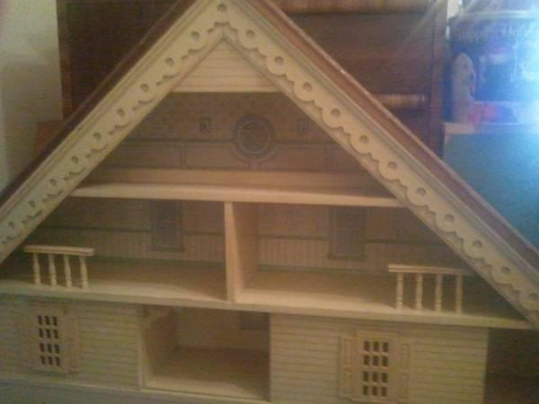 Vintage Dollhouse Bedroom Set 5pc For Sale In Marion Illinois