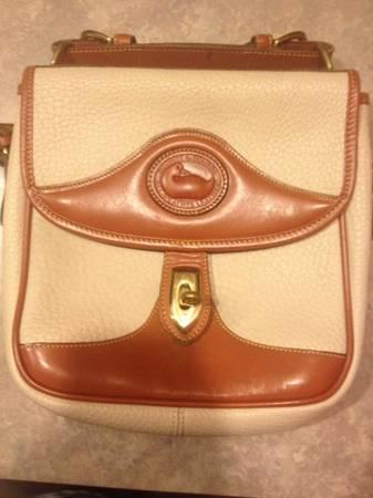 Vintage Dooney and Bourke all-weather leather crossbody purse - $40