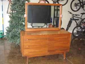 Vintage Drexel Heritage Dresser mirror Greenville SC