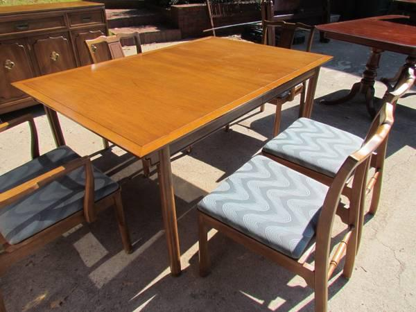 Vintage Drexel table & chairs - $150