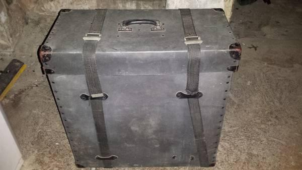 vintage drum trap cases ludwig bo snare cases for