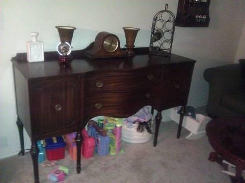 Vintage duncan phyfe dining room 4 piece set for sale for 4 piece dining room set