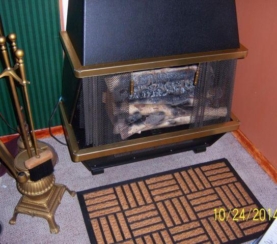 Vintage Electric Fire Place And Pot Belly Stove Tool Set For Sale In Adamsdale Pennsylvania