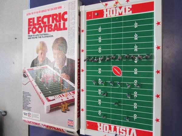 Vintage Electric Football Game For Sale In Castle Rock Colorado