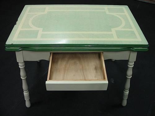 Porcelain Top Kitchen Table Sale