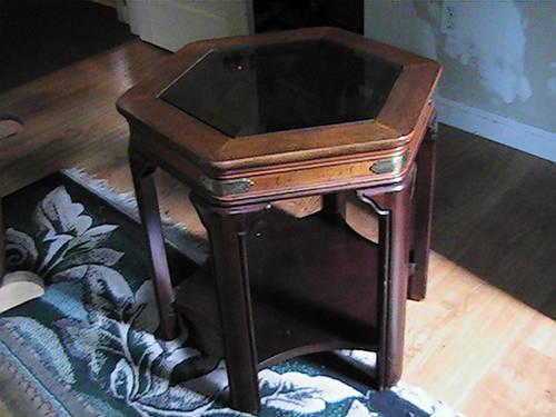 Vintage End/Coffee Table by Gordon Fine Furniture