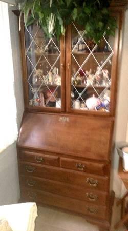 Antique Drop Front Secretary Desk >> Vintage Ethan Allen Secretary Desk for Sale in Daytona ...