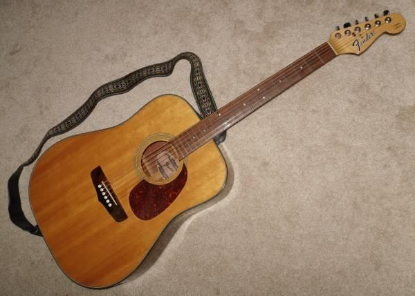 Vintage Fender Redondo II Acoustic Guitar Strap