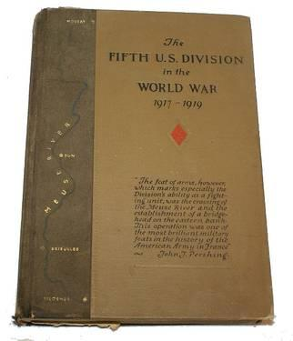? ViNTAGE FIFTH US DIVISION IN THE WORLD WAR ONE