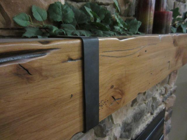 Vintage fireplace mantel shelf montana wood beam log rustic for sale vintage fireplace mantel shelf montana wood beam log teraionfo