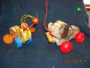 VINTAGE FISHER-PRICE TOYS - $20 E,VILLE, EAST