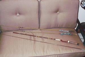 Vintage Fishing Rods - $50 (Salem)