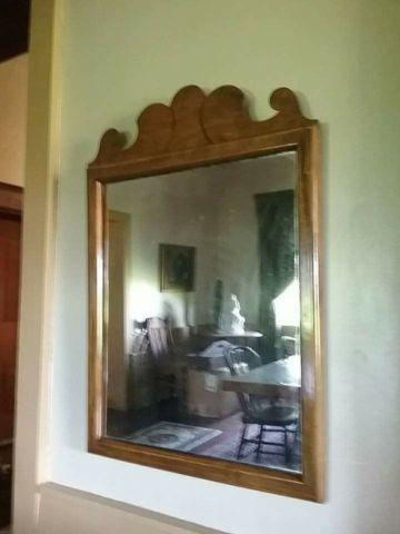 VINTAGE FRAMED MIRROR