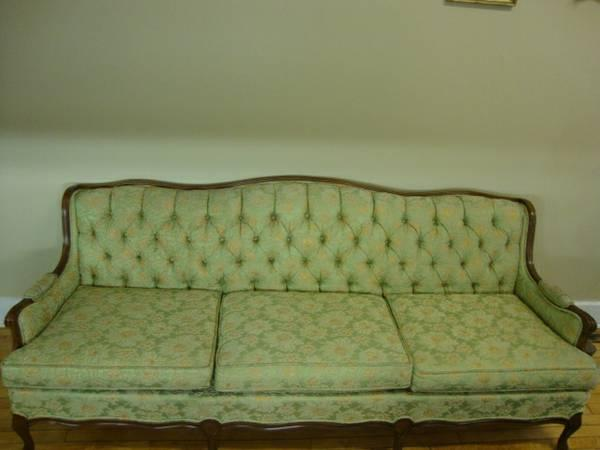 Vintage French Provincial Couch   $499