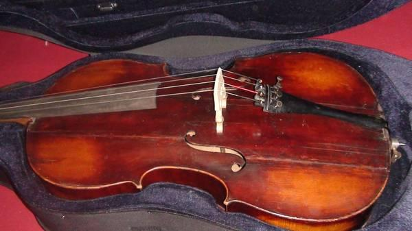 Vintage German Cello from Mittenwald with Hard Case - $3000
