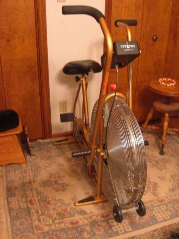 Vintage Gold Schwinn Airdyne Stationary Bike For Sale In