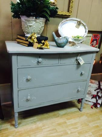 Vintage Handpainted Chest of Drawers - $249