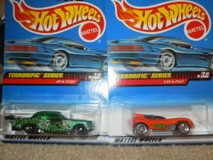Vintage Hot Wheels - Terrorific Series - $10 (New
