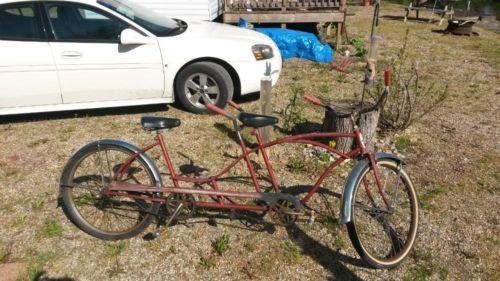 Vintage Huffy Daisy Tandem Bike