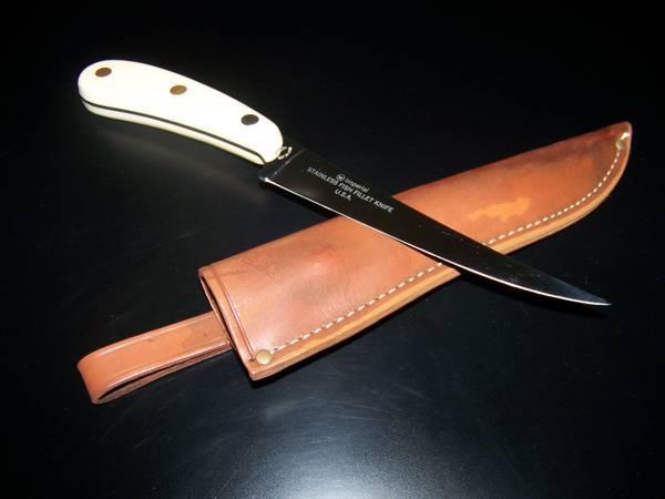 Vintage Imperial Stainlees/Steel Fish Filet Knife - Model 442F - $35