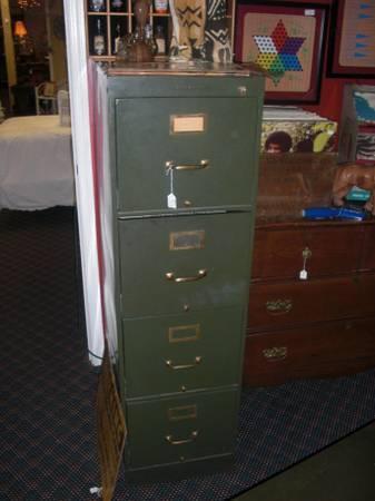 Vintage Industrial Shaw Walker File Cabinet - $140