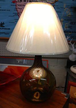 Vintage Italian Murano Hand Blown Glass Lamp