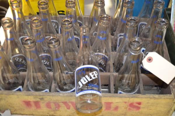 vintage julep soda bottles from peoria for sale in peoria illinois classified. Black Bedroom Furniture Sets. Home Design Ideas
