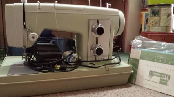 Vintage KENMORE Sewing Machine Model 1754 - $200