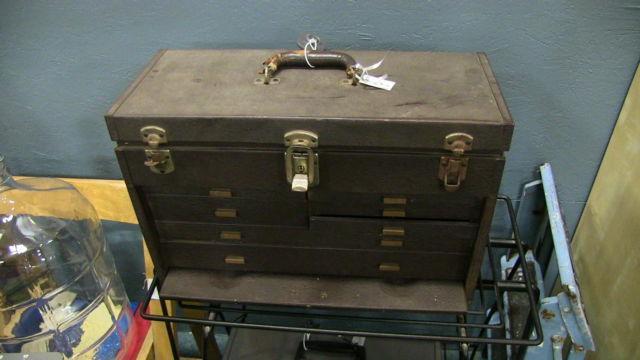 Vintage Kennedy Toolbox